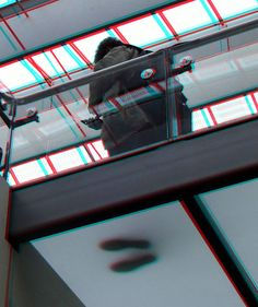 https://flic.kr/p/D7P6T5 | Centraal-Station Rotterdam 3D | anaglyph stereo red/cyan