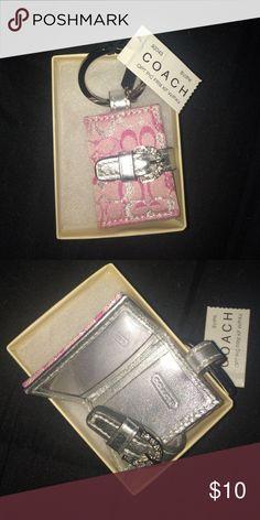 Coach photo Keychain 2 x 1 1/2 inch keychain Coach Accessories Key & Card Holders