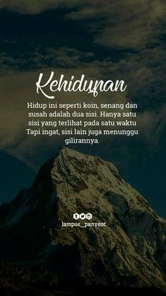 Ada saatnya Quotes Gif, Quran Quotes, Wisdom Quotes, Motivational Quotes, Love Life Quotes, Happy Quotes, Positive Quotes, Today Quotes, Islamic Inspirational Quotes