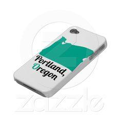 Portland, Oregon Love iPhone Case Iphone  $35.95 #portland #oregon Is it sad that I want to buy all my own stuff?