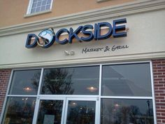 Dockside Market & Grill in Flemington, NJ serves excellent American cuisine, particularly its seafood options.  Great for families.  Find Dockside on www.boomerang-dining.com.