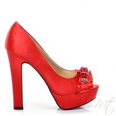 Dámské červené lodičky DYLAN #shoes #pumps #fashion #heels