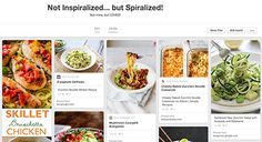 Not Inspiralized, But Spiralized Recipe Roundup