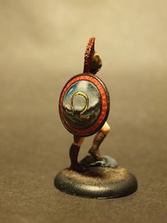 How To Paint Non-Metallic Metal on Miniatures   2+ INVULNERABLE