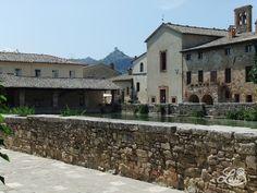 Bagno Vignoni, Tuscany, Italy
