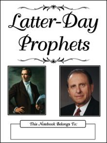 LDS Notebooking: Church History study pages