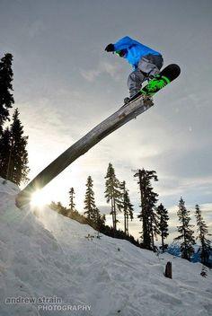 Taylor Pfaff, Whistler, BC
