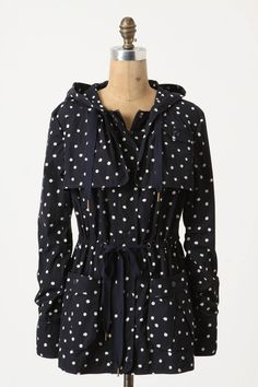 Rain-Dotted Anorak by Daughters of the Liberation (this brand can do no wrong, seriously) from Anthropologie.  $168