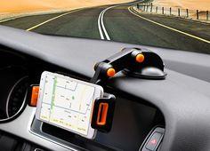 Ajustable plegable giratorio de succión gps del teléfono móvil del coche montaje del soporte para asus zenfone 3 max zc520tl
