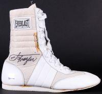 Joe Frazier Signed Everlast Boxing Boot (JSA LOA & Superstar Greetings COA) at PristineAuction.com