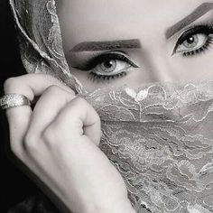 Beautiful Rose Flowers, Beautiful Hijab, Beautiful Gif, Hijab Makeup, Eye Makeup, Pretty Eyes, Cool Eyes, Niqab Eyes, Arabian Eyes