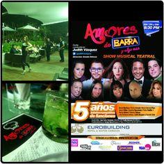 """#quehaypahoy #Hoy es #Vie14/08 de #LIBERA el #ESTRÉS con #AmoresDeBarra""""  Hotel @eurobuilding Bs645.Hora 8:30PM. Entradas en www.tuticket.com y en el lobby del Hotel a partir de las 5pm. Te Esperamoooooos ¡"""