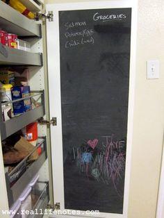 Chalkboard Pantry