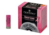 Shooters can now blast clay pigeons for a cause. Federal® Ammunition's special edition Top Gun® Target loads support finding a cure for breast cancer. These distinctive pink hulls are an effective hunting and shooting practice option or a solid load for shooting competitions. A portion of the sales of this product will go directly to the search for a cure. The new 12-gauge 2-3/4-inch #8 shotshells deliver consistent performance for all types of clay target shooting.