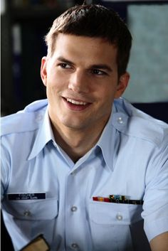 The Guardian Aston Kutcher..the perfect  looking guy here