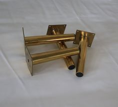 Chrome Furniture Legs Pack Of 4 Cylinder Tubular Feet Sofa Beds Ottoman Box