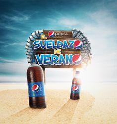 Pepsi - El Sueldazo de Verano on Behance