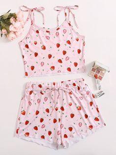 Cute Pajama Sets, Cute Pjs, Cute Pajamas, Pajamas Women, Girls Fashion Clothes, Teen Fashion Outfits, Cute Fashion, Girl Outfits, Ropa Interior Babydoll