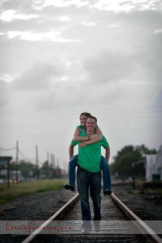 engagement photos railroad tracks - Google Search