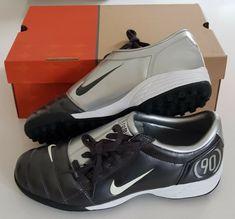 ed9f31b19bc8 OG 2005 NIKE TOTAL 90 III TF ASTRO TURF TRAINERS FOOTBALL SOCCER VAPOR BNIB  UK 9  Nike