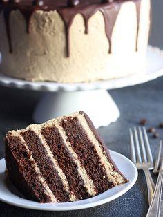 Chocolate Coffee Layer Cake