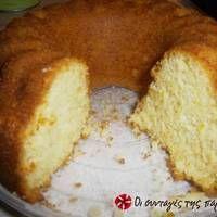 Κέικ βανίλιας νηστίσιμο