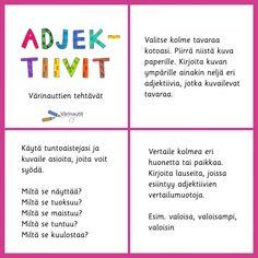 Page not found - Värinautit Finnish Language, Primary English, Grammar, Homeschool, Classroom, Teaching, Education, Class Room, Onderwijs