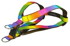 Sassy Dog Wear 1824Inch Rainbow Dog Harness Medium * Check out this great product.Note:It is affiliate link to Amazon.