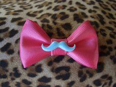 mustache bow