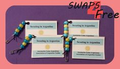 SWAPS4Free: Argentina Scouting in Book World Thinking Day SWAPS - Free Printable!