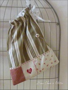 Cute drawstring bag