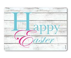 Wand-Spritzschutz Happy Easter Three, 59 x 41 cm | Westwing Home & Living