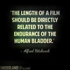 #Hitchcock on Film Length