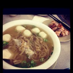 I am addicted to noodle soup!