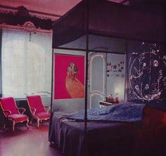 Peggy Guggenheim's bedroom in the Palazzo Venier dei Leoni - Venice