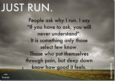 Motivation Monday: Just Run!! #fitfluential