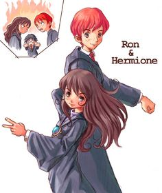 Ron X Hermione APRIL FOOLS by Its-So-Obvious on DeviantArt