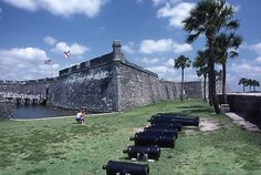 "@Brian Ainley, @Design2Conquer Castillo de San Marcos - St. Augustine, FL.  Where the Spanish and the English ""met"""