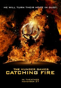 The Hunger Games: Catching Fire Tribute   Film Poster   by Eugenio De Riso, via Behance