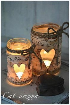 From spices storage to toothpick containers, we can create lot of amazing item using Mason Jars to decorate our house. And today I'm going to give you Easy and Creative DIY Mason Jars Lamp as a… Mason Jar Christmas Crafts, Christmas Candle Holders, Mason Jar Crafts, Mason Jar Diy, Mason Jar Lamp, Christmas Diy, Thanksgiving Crafts For Kids, Painted Mason Jars, Diy Candles