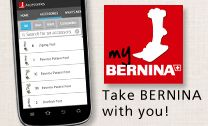 My BERNINA Accessories Mobile App. Not sUre if this will take you to Bernina FAQ but that is what I'm hoping to pin. The Bernina app is great too.