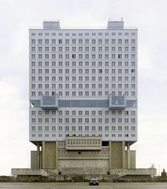 House of Soviets, Kaliningrad, Russia, as part of Nicolas Grospierre's Modern Forms photography series Russian Architecture, Interior Architecture, Interesting Buildings, Amazing Buildings, Wallpaper Magazine, Built Environment, Brutalist, Worlds Of Fun, Kaliningrad Russia