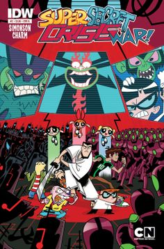 Digital Comics - Comics by comiXology Cartoon Crossovers, Cartoon Movies, Cartoon Characters, House Characters, Cartoon Art, Dreamworks, Miss The Old Days, League Of Extraordinary, Johnny Bravo