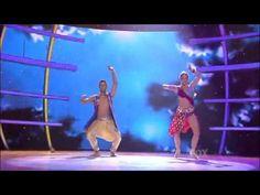 """Caitlin & Jason  SO you think you can dance """"bollywood"""""""