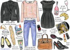Parisian style. Chic & simple <3