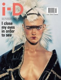 i - D May 2002 - Natalia Vodianova in 'The Spectator issue'