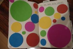 Page with Circles