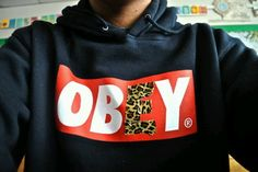 Love obey. Always have.. Always will. Obey. Hoodie