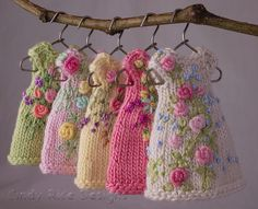 :: Crafty :: Doll :: Clothes :: Everlasting Garden Dresses | by Cindy Rice Designs