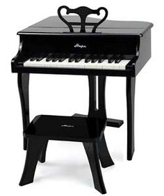 Hape Happy Grand Piano - Black.